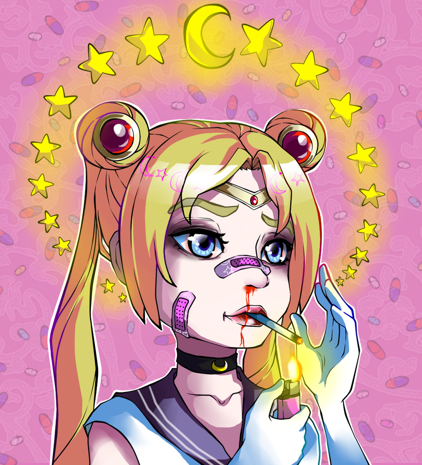 Sailor Moon by ren-danny