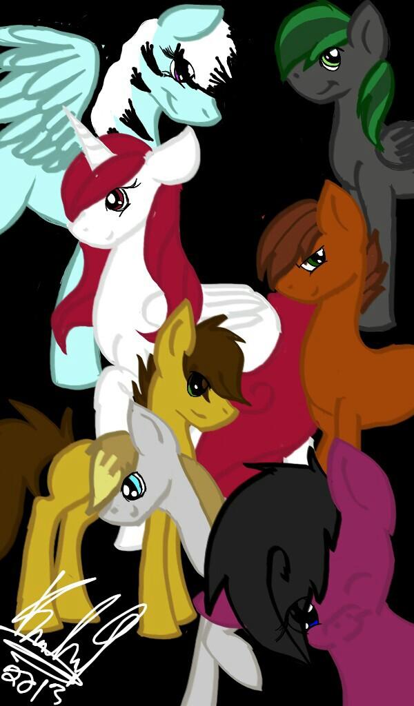 my pony buddies by koolish91