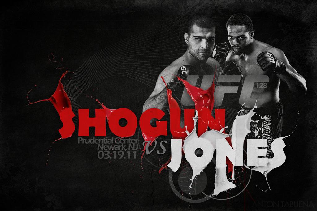 UFC 128: Shogun vs Jones by weoweoweo