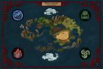 Avatar legends Map (Fan Art)