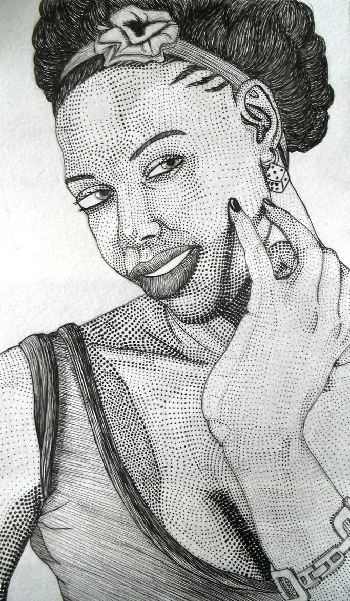 Afro Momo by TekkieBrek