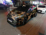 Ford Fiesta Camouflage