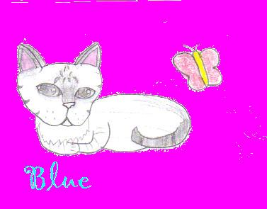 Blue by swiftbreeze