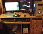 Desk by rabidcentipede