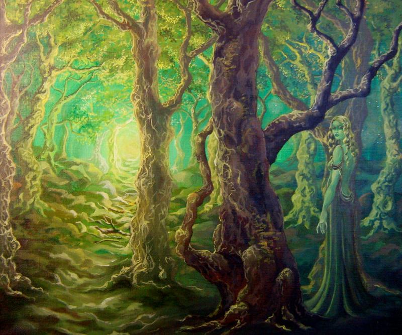 Yavanna, Kementari by Farothiel