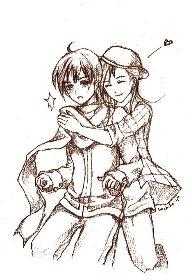 AT: Hug you by sachiko-yu on deviantART