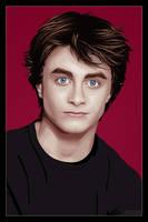 Daniel Radcliffe -vectorized- by xluluhimex