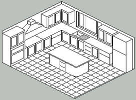 Kitchen design -lines- by xluluhimex