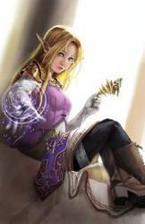 Zelda, The Wise Ruler by knighthead