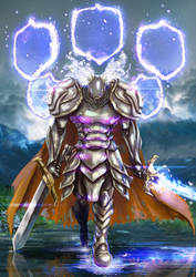 Fabled Paladin by knighthead