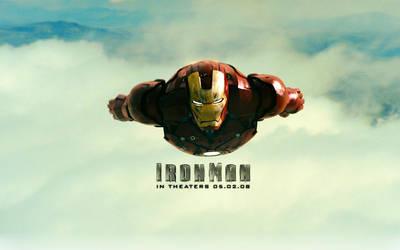 Flying Heavy Metal Man by antirobotic
