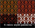 4variants retro pattern