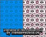 2 Variatns Retro Pattern 03