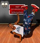 B-boying Indoor 2 ID