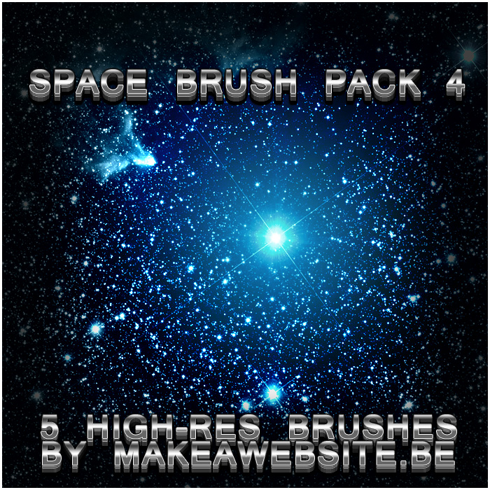 Space Brush Pack 4