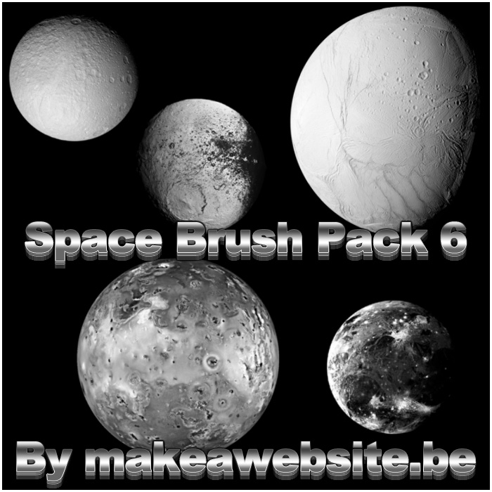 Space Brush Pack 6