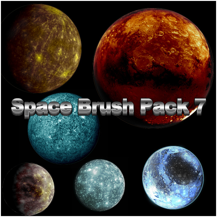 Space Brush Pack 7