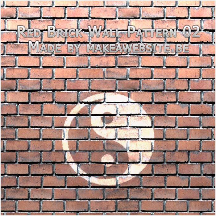Red Brick Wall Pattern 2