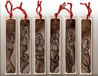 Mermaid Series Bookmarks