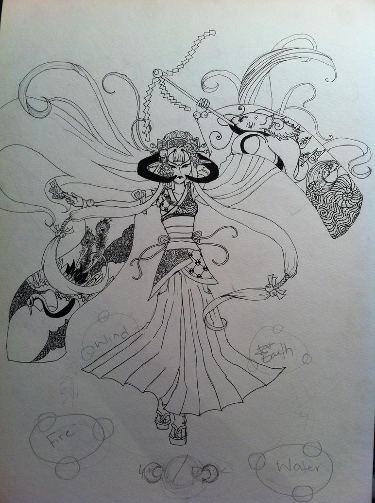 Mystic Maiden by Vaporapture