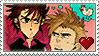 Stamp - Kotarou x Musashi by kuramachan