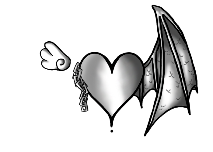 Wing Tattoo Pt 1 Demon by kuramachan on deviantART