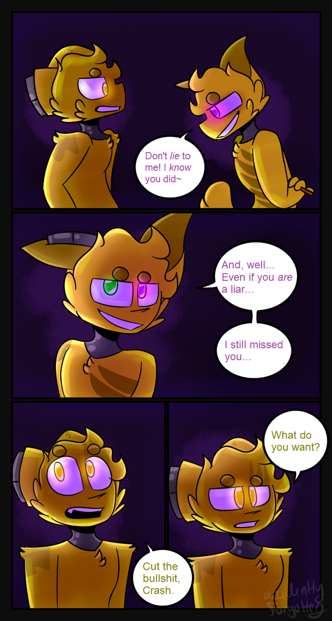 Crashing Down - Page 45 by AccidentlyForgotten