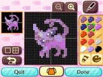 Espeon Animal Crossing pattern 2