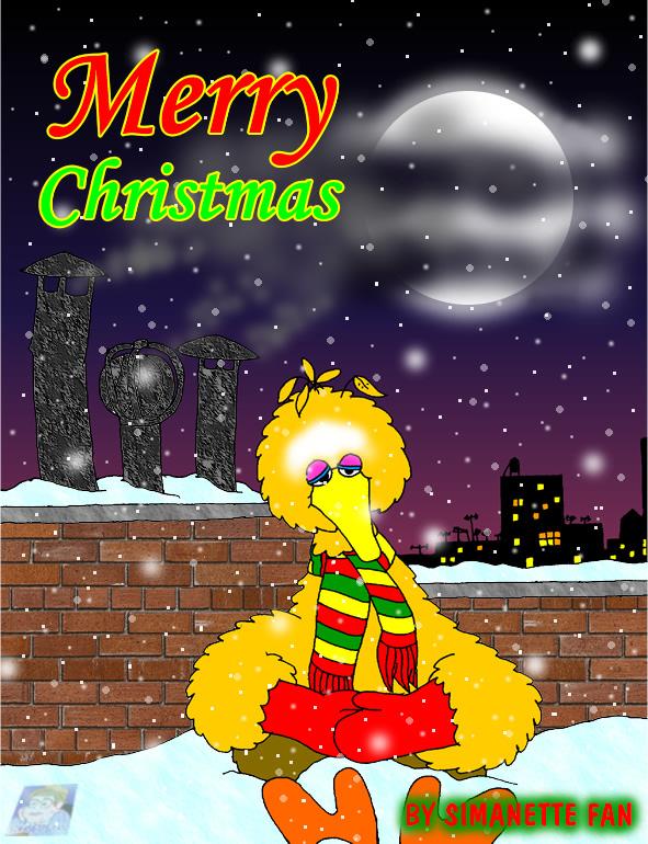 Christmas Eve on Sesame Street by SimanetteFan on DeviantArt