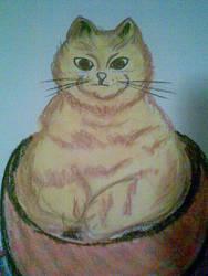 Gato Yellow by Helenarts