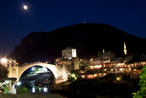 Mostar at Night by 4pm