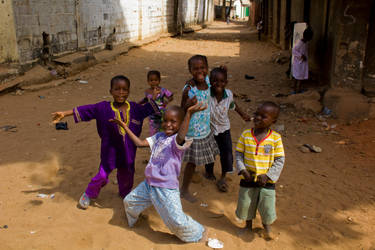 Gambian Street Kids by 4pm