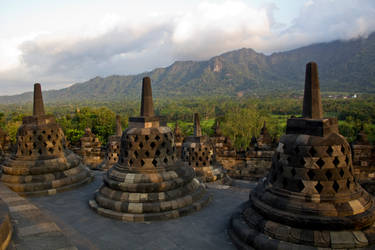Borobodur by 4pm