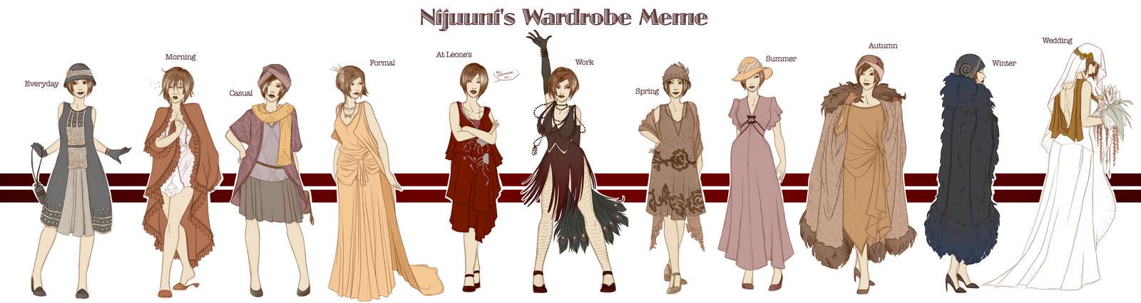 Ruth's Wardrobe Meme by Rakiah