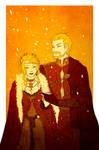 GoT - A golden and scarlet wedding