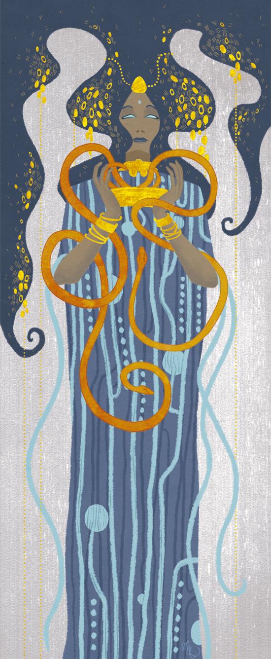 The Snake Goddess by Rakiah