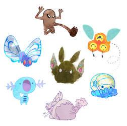 Pokemon Challenge by leesers