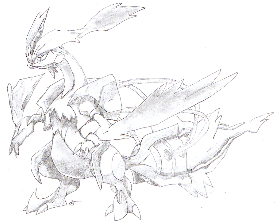 White Kyurem by goldgriffin on