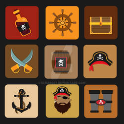 Pirates Icon Pack