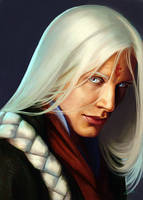 Ishaiah'Dara Portrait by LeoNealArt