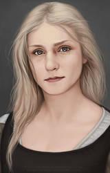 Sigyn Portrait by LeoNealArt