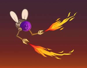 Smitus the robotic fly