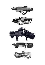 weapon concepts by r2010