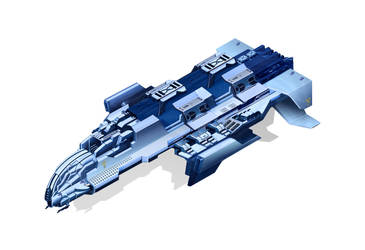 light armored concept frigate by r2010