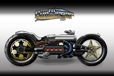 Gunslinger concept bike by r2010