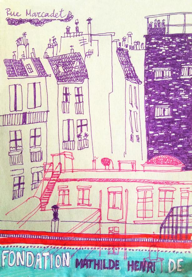 Rue Marcadet L by sapfonelo