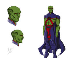 Martian Manhunter by FabianHofmann