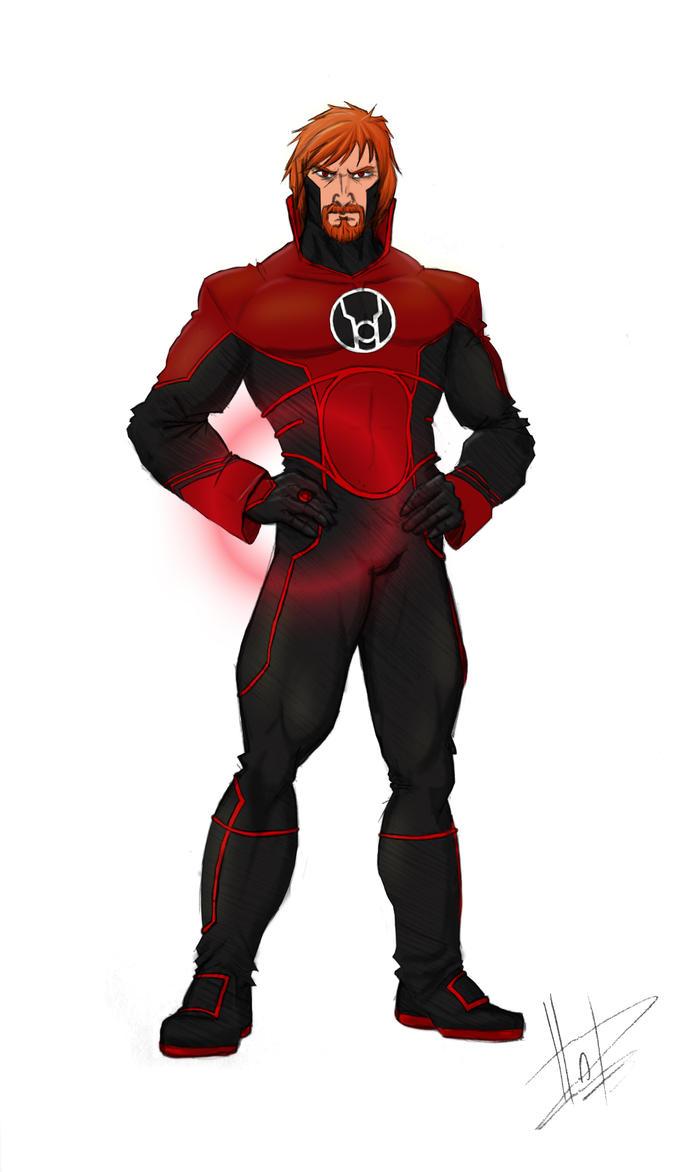 Red Lantern Guy Gardner by FabianHofmann on DeviantArt