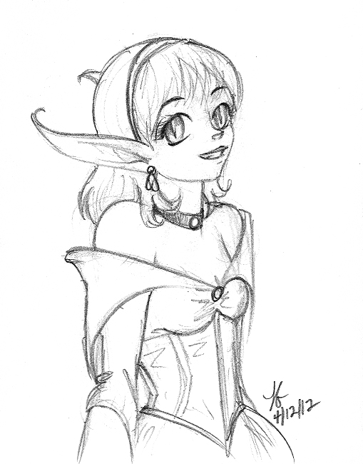 Tasha Sketch by Myotes