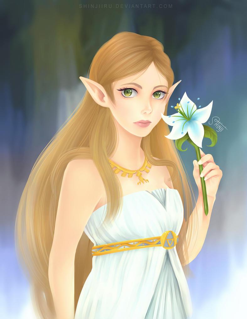 Silent Princess by shinjiiru